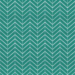 cute geometric seamless pattern in retro green