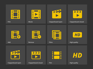 Video icons.