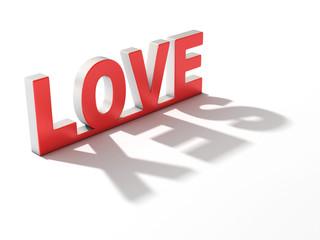 love sex 3d concept