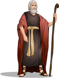 Moses From Bible For Passover poster