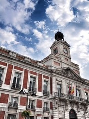city hall in Madrid, Spain