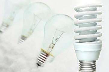 Energiesparlampe - 3d Render