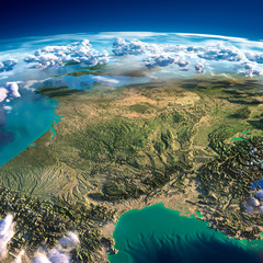 Fragments of the planet Earth. France