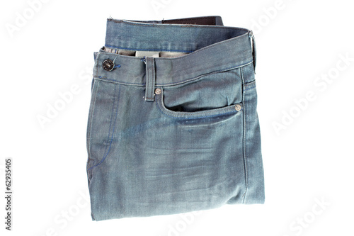 pair of jeans isolated