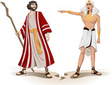Pharaoh Sends Moses Away For Passover poster