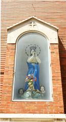 Hornacina con Virgen en Palermo, Italia
