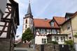 Treppe zur Kirche in Oberursel