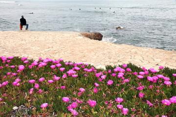 Viewer in Las Rotas beach,Denia,Costa Blanca,Alicante,Spain