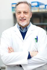 Scientist in a laboratory