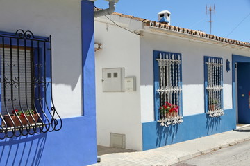Fishermen Houses in Las Rotas beach, Denia,Costa Blanca,Alicante