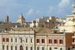 Trapani from the Mediterranean sea Sicily Italy