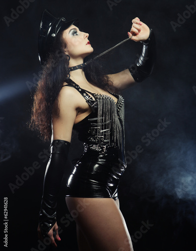 sexy beautiful police woman