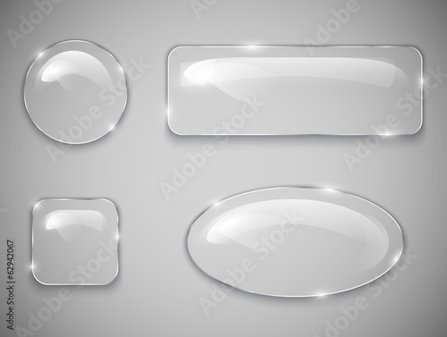 Glass buttons - 62942067