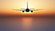 canvas print picture - avion de pasajeros