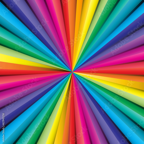 Abstract striped background with rainbow colors