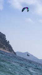 Kitesurfing a Tavolara - Sardegna