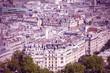 Paris, France. Cross processed color tone.