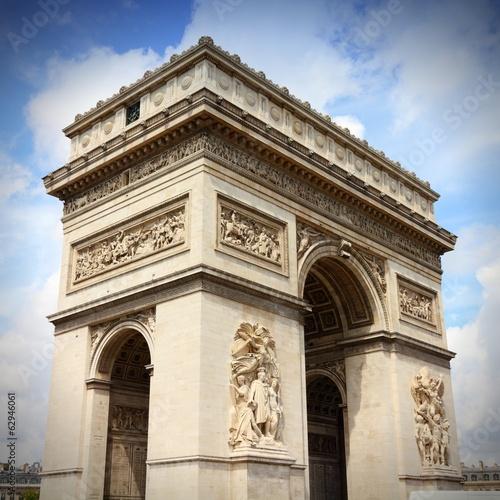 Paris, France - Triumphal Arch