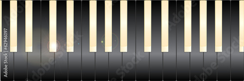 White And Black Piano Keys
