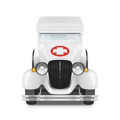 Retro car icon