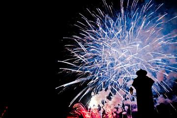 Fireworks castle VIII