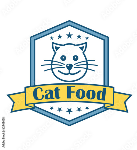 Cat food label