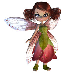 Cute Blossom Fairy