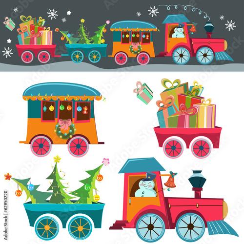 Christmas train - 62950220