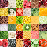 Fototapety Healthy food backgrounds