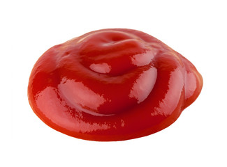 Tomato ketchup closeup