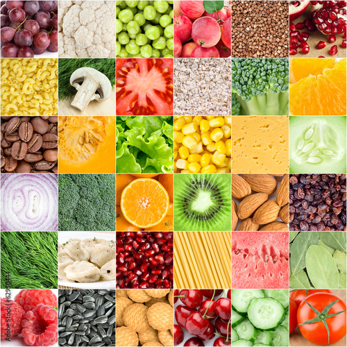 Healthy food backgrounds - 62950444