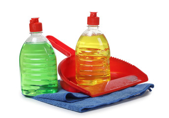 Scrub and cleaning products