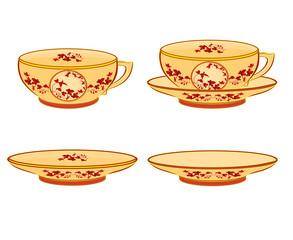 cup part of porcelain