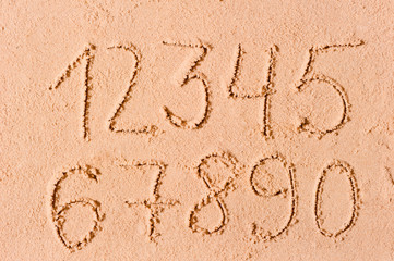 written in the sand figures in order