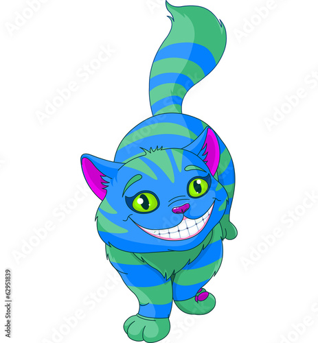 Walking Cheshire Cat