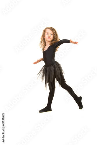 Dancer ballerina girl