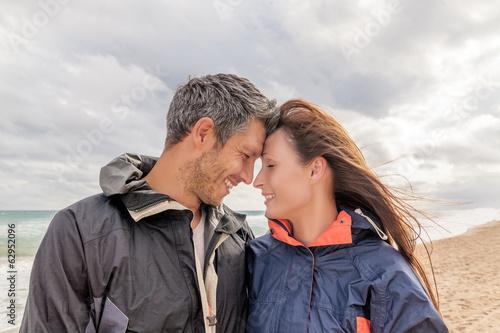 couple autumn journey