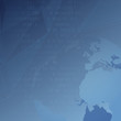 Global internet background template