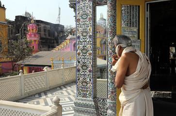 Jain Temple in Kolkata, West Bengal, India