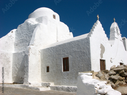 Orthodox church in Mykonos