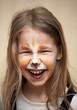 funny kitten girl