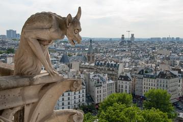 Notre Dame Demon Gargoyle
