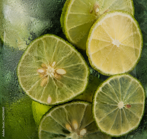 Lime Juice Background