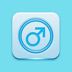 Blue icon edge light
