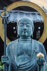Buddha Statue at  Daiun-in temple in Kyoto