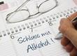 Kalender - Schluss mit Alkohol
