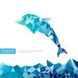 Obrazy na płótnie, fototapety, zdjęcia, fotoobrazy drukowane : Triangle dolphin