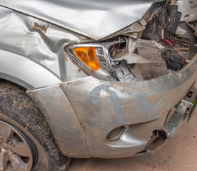 Damage caused by accident