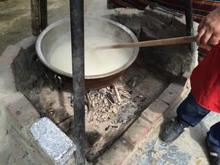 Keşkek Pişirme