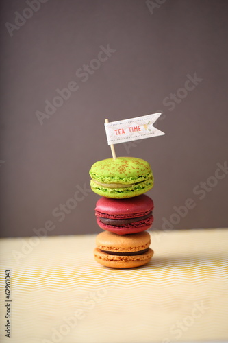 tea time macarons